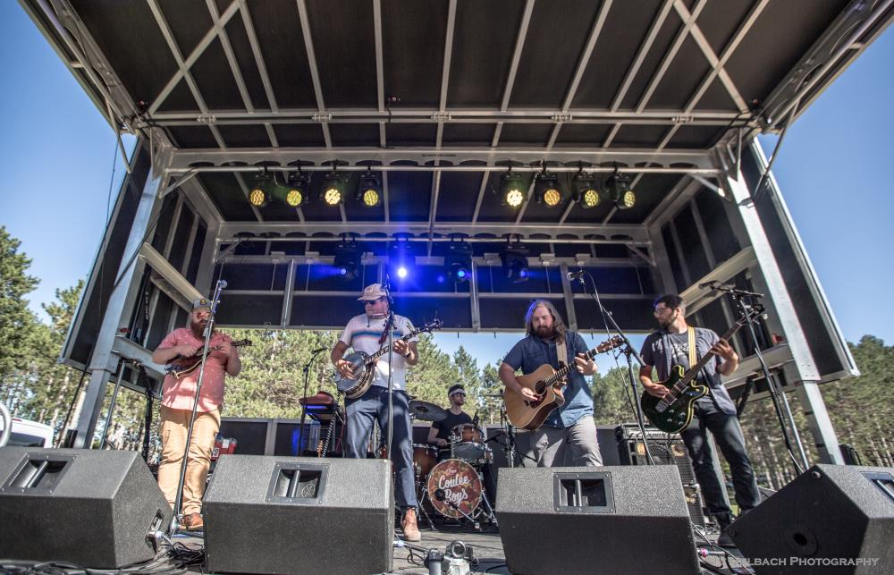 Them Coulee Boys Live in the Pines Blue Ox Music Festival