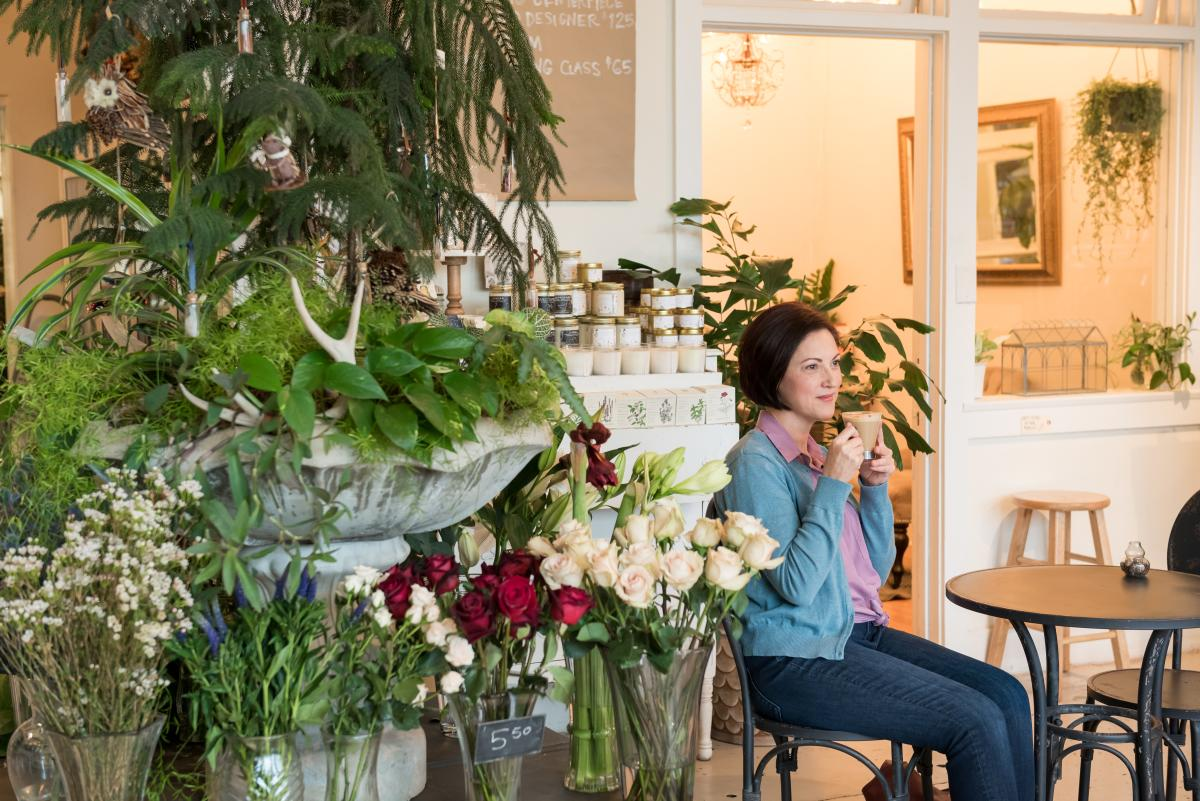 Flora Florist & Coffee Shop in West Asheville