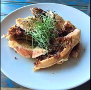 Specialty dish at Fish Gaucho