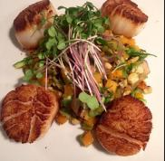 Scallops from Fish Gaucho