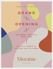 Grand Opening Moraine