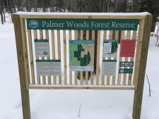 Palmer Woods Entrance