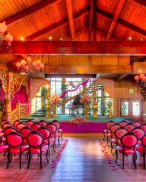 Madonna Inn's Beautiful Ballroom