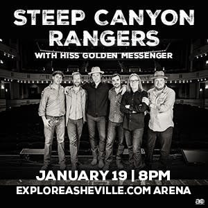 Steep Canyon Rangers at ExploreAsheville.com Arena on January 19, 2019
