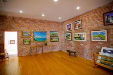 Art Gallery Interior