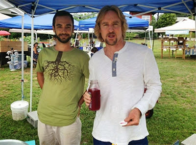 Owen Wilson at Tailgate Market