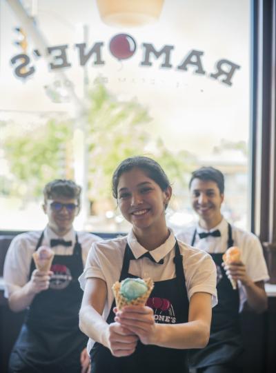 Ramone's Ice cream