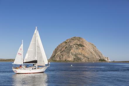Sailing in Morro Bay