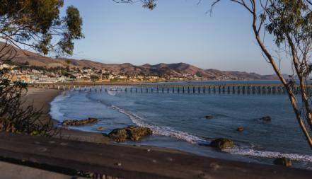 View of Cayucos, California