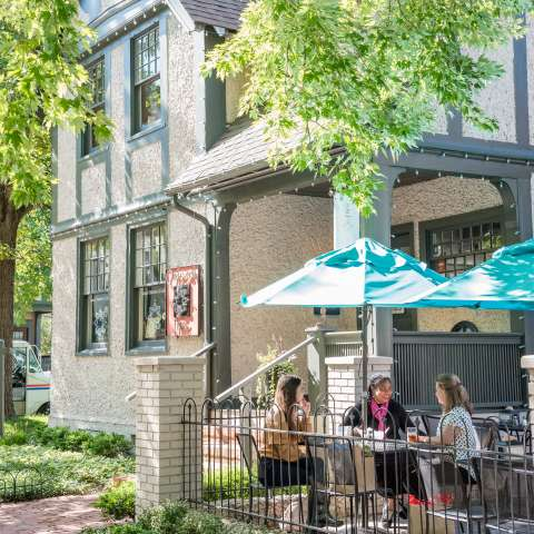 Patio Dining in Historic Biltmore Village