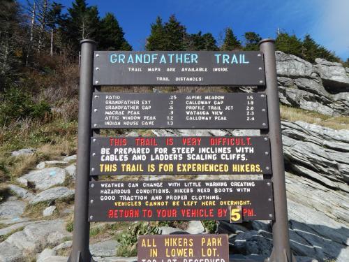 Grandfather Mountain Trail | Advanced Hiking near Asheville ...