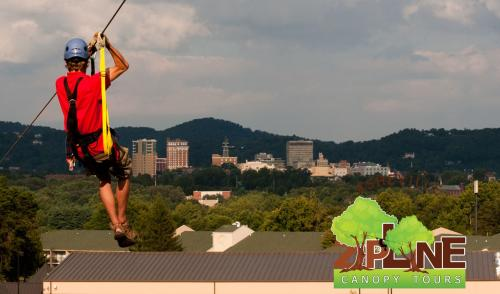 Asheville Zipline Canopy Adventures