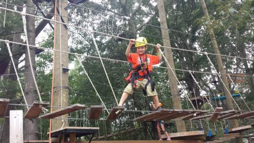 Asheville Treetop Adventure Park