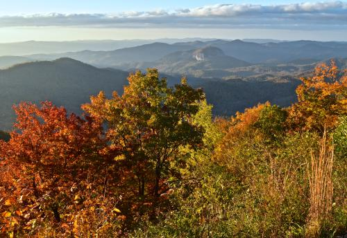 Looking Glass Rock Mid Fall Color 2016