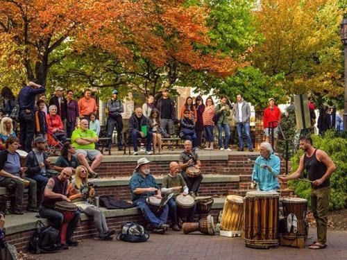 Late Fall Drum Circle