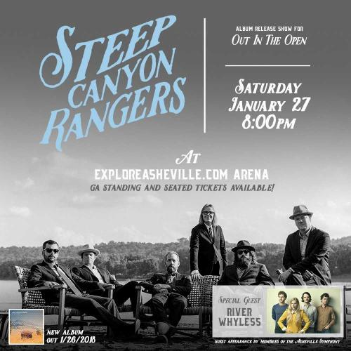 Steep Canyon Rangers Album Releas Show Poster