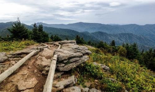 Mount Craig Summit on Deep Gap Trail