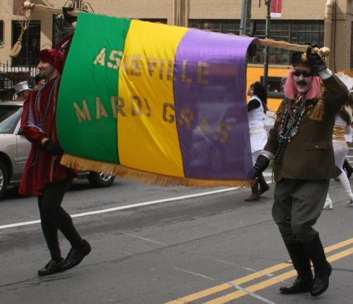 Mardi Gras Asheville 2013