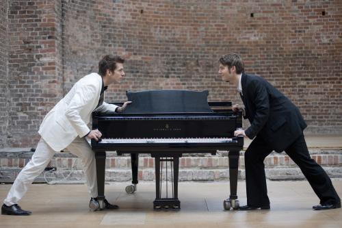 Pianists Andreas Kern and Paul Cibis