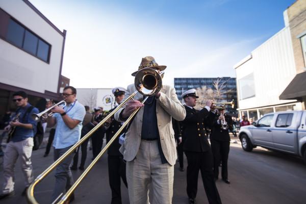 Downtown Eau Claire Jazz Festival Parade