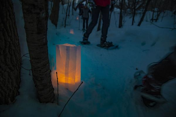 Candle Light Snow Shoe Hike Altoona