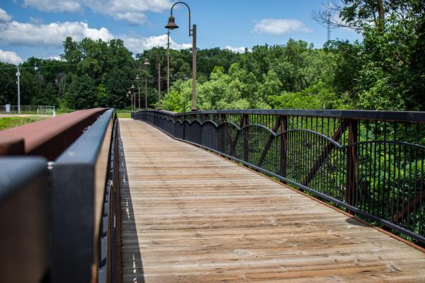Boyd Park Bridge