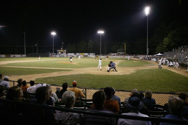 Eau Claire Express baseball game in Carson Park