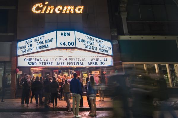 Jazz Festival 2018 Outdoor Cinema Shot
