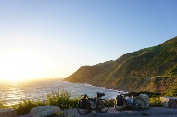 Highway 1 Scenic Bike Trail View