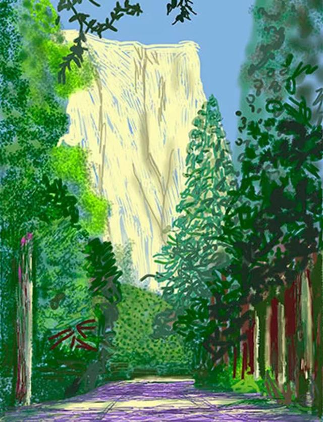latest catch limited guantity David Hockney's Yosemite and Masters of California Basketry