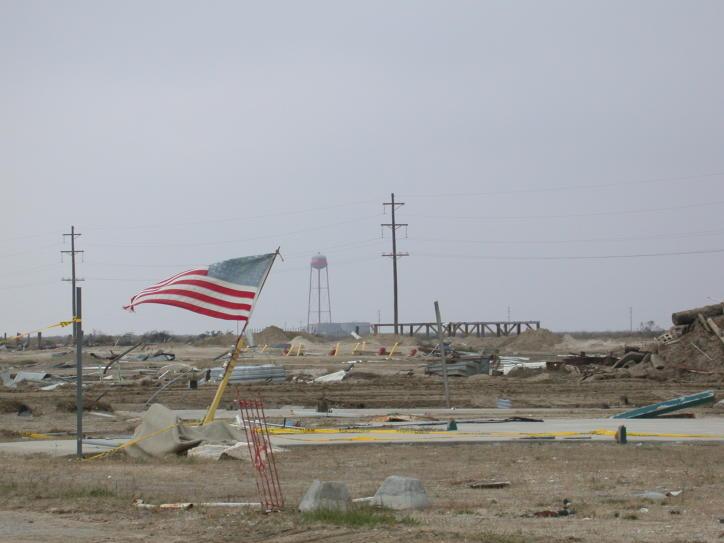 Holly Beach after Hurricane Rita