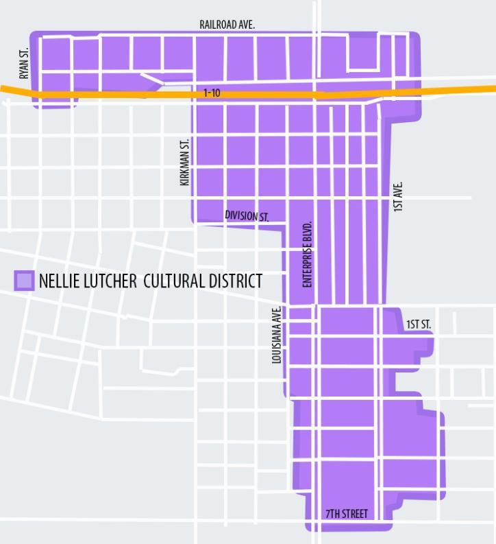 Nellie Lutcher Cultural District