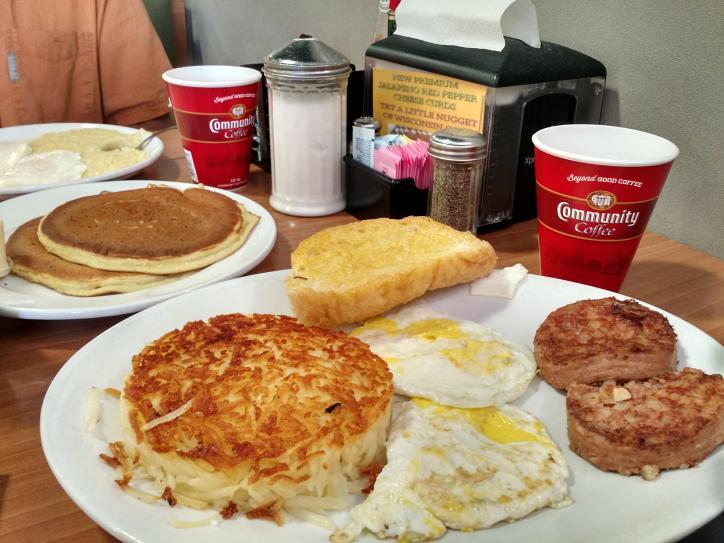 Pitt Grill breakfast