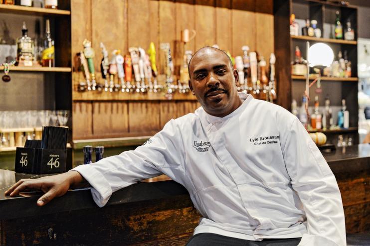Chef Lyle Broussard