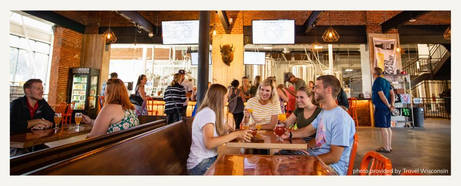 The Brewing Projekt in Eau Claire, Wisconsin
