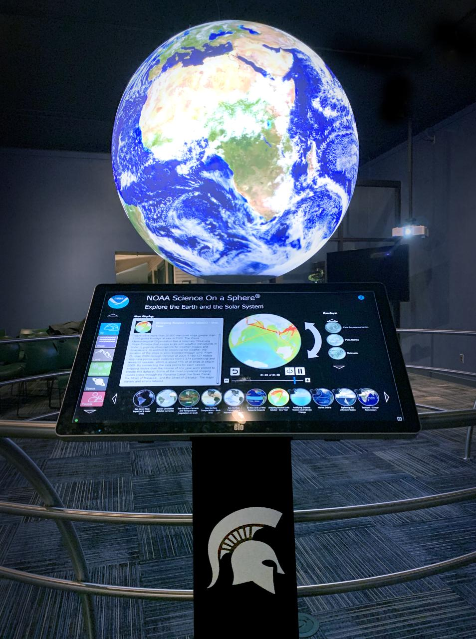 Science on a Sphere - MSU Museum