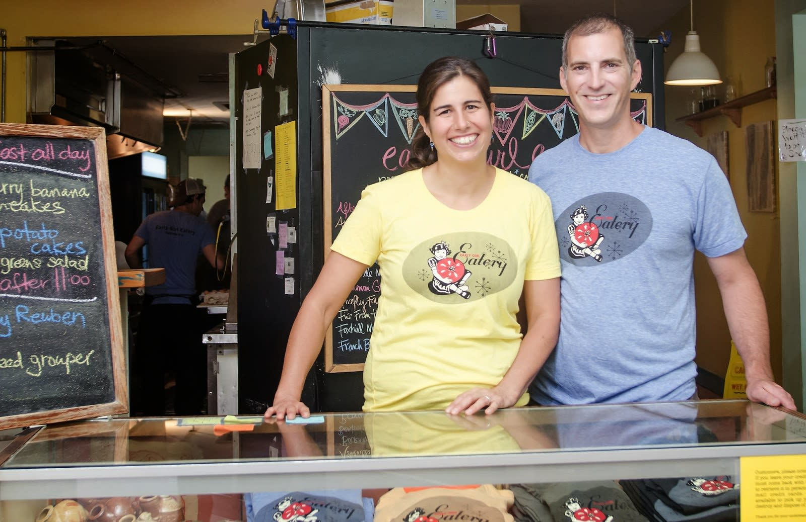 John & Julie Stehling, owners of Early Girl Eatery and the soon-to-open King Daddy's Chicken & Waffle