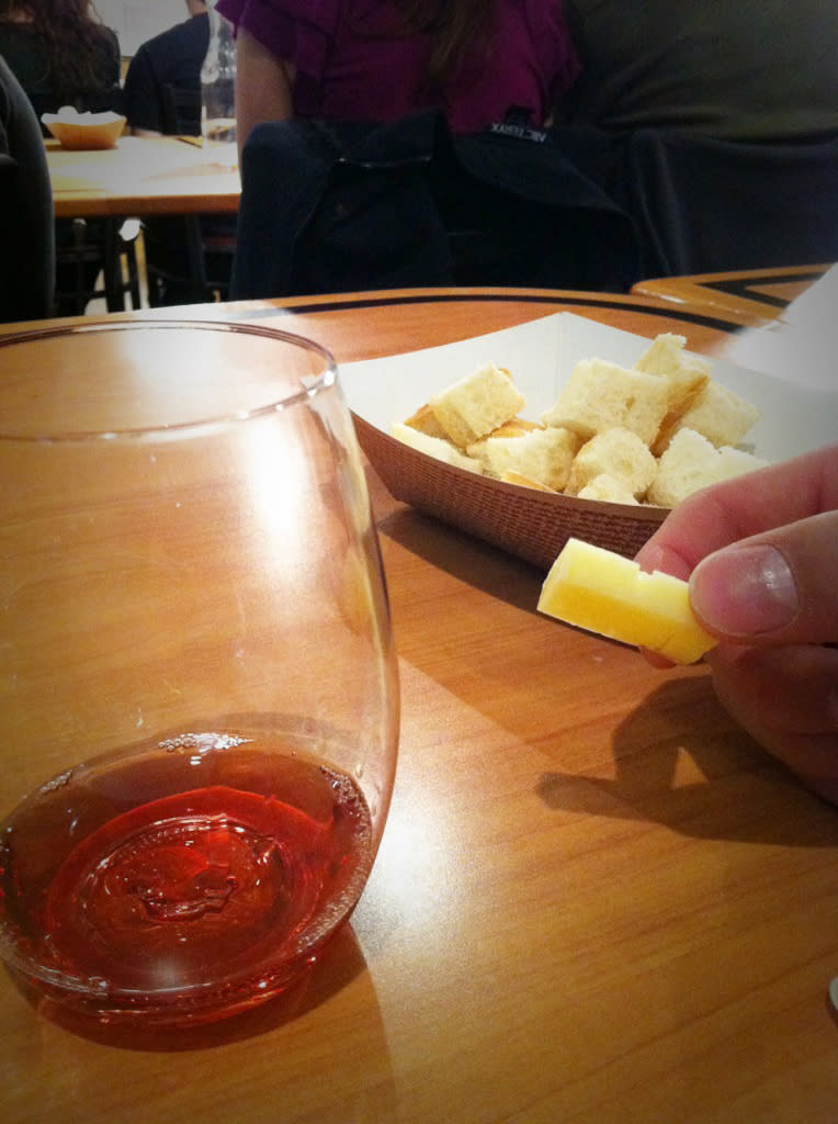 Cheese and Wine Class at Caputo's Market