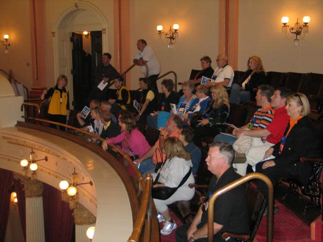 Tour Group at California State Capitol