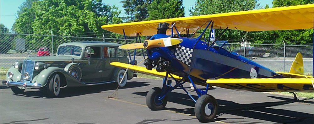 Wings & Wheels Plane and Car