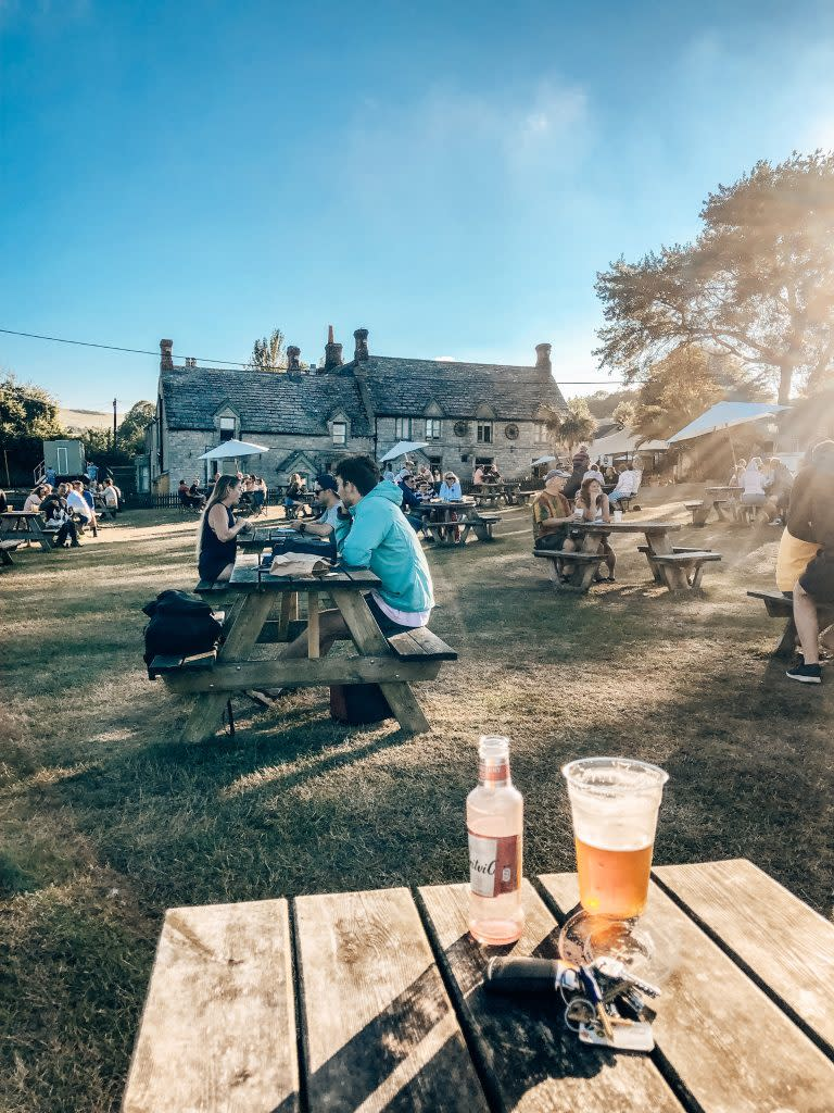 Bankes Arms Pub in Studland