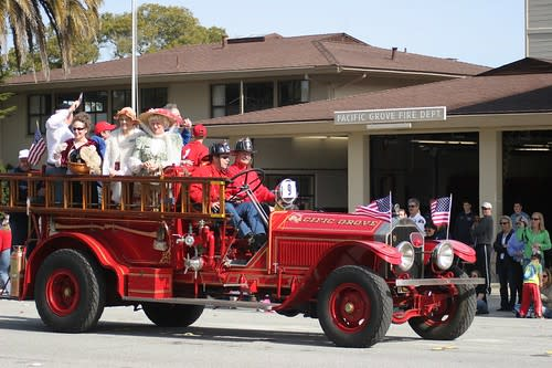 Good Old Days Parade - Pacific Grove