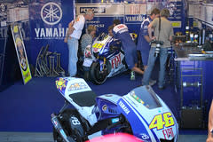 Valentino Rossi's motorcycle