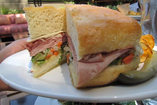 The Muffaletta at Big Sur Roadhouse