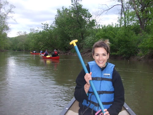 Canoeing the Hocking River
