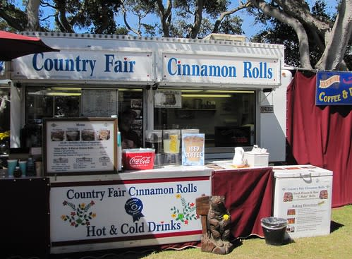 Cinnamon Rolls at the Monterey County Fair