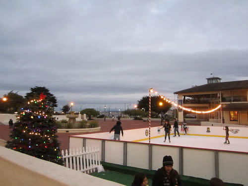 Ice Skating by the Bay at Custom House Plaza