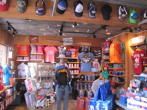 Tons of Bubba Gump Apparel