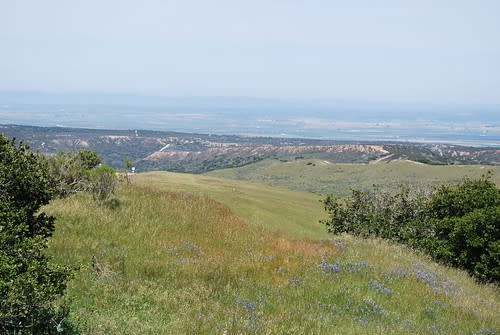 Distant views at Fort Ord
