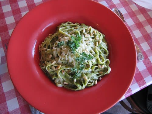 Louie Linguini's Pesto Pasta